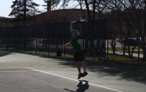 Boys' Tennis reaches season endings and new beginnings