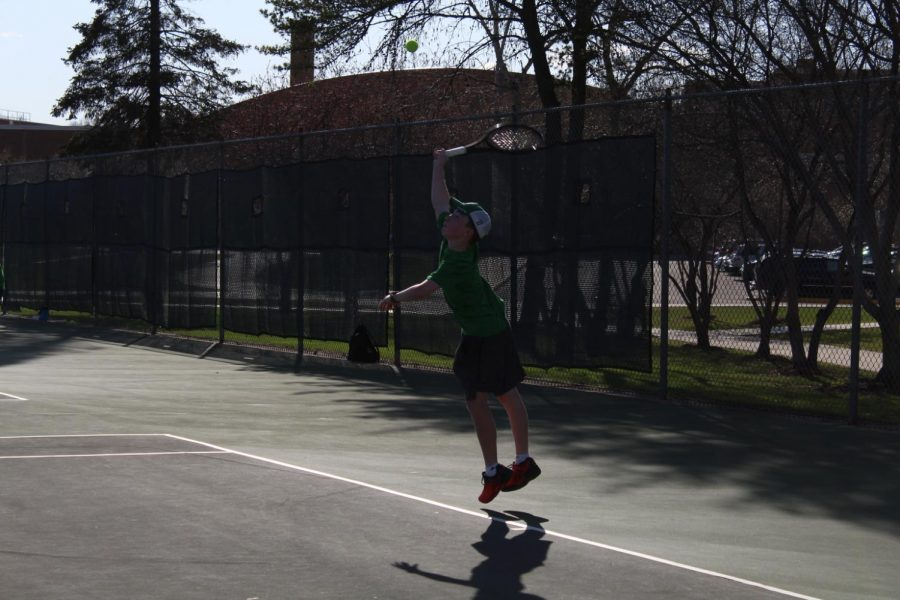 Boys' Tennis reaches season endings and new beginnings