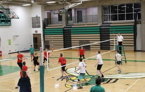 Boys' Volleyball brings a new sport to students