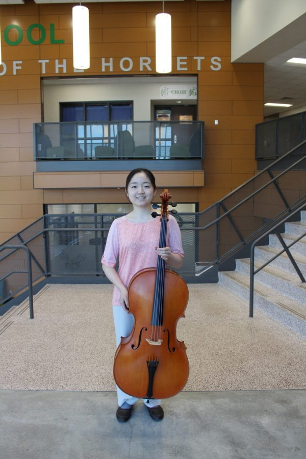 National-level cellist looks toward bright future