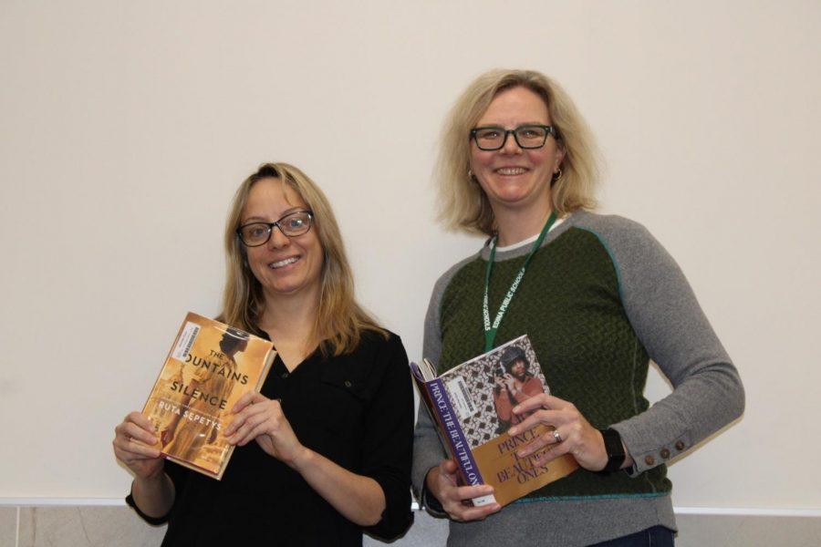 Interview with Media Specialist Sara Swenson and Media Assistant Andrea McElligott