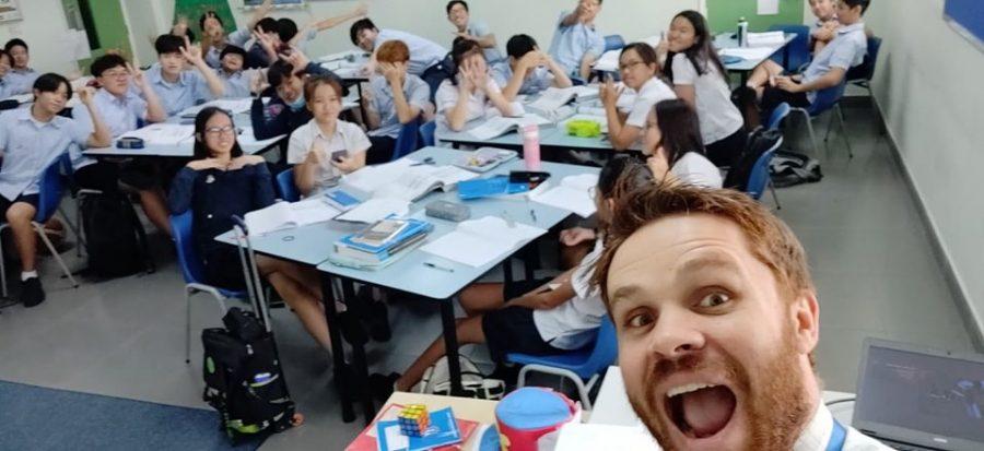 """Greetings from Vietnam, Edina High School!"""