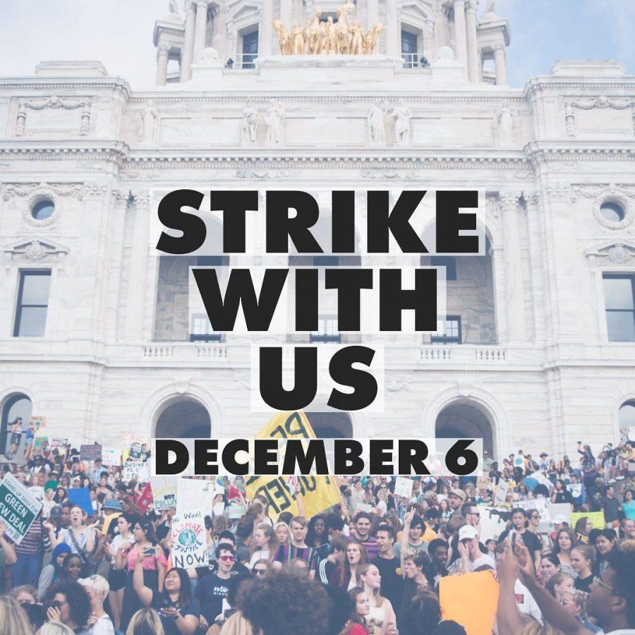 Climate Strike on December 6th