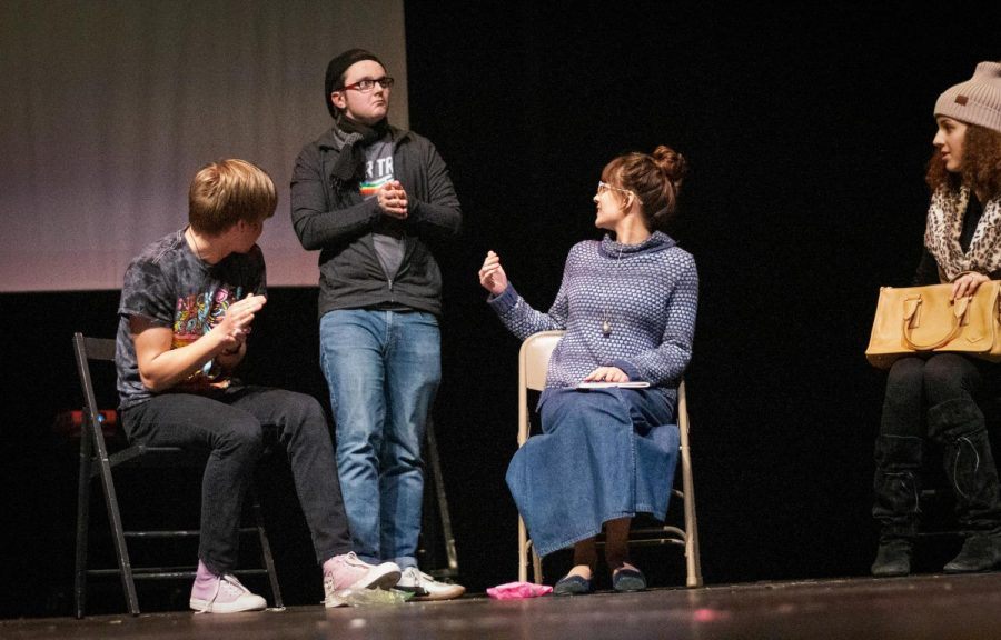 One-Act takes the (competitive) stage