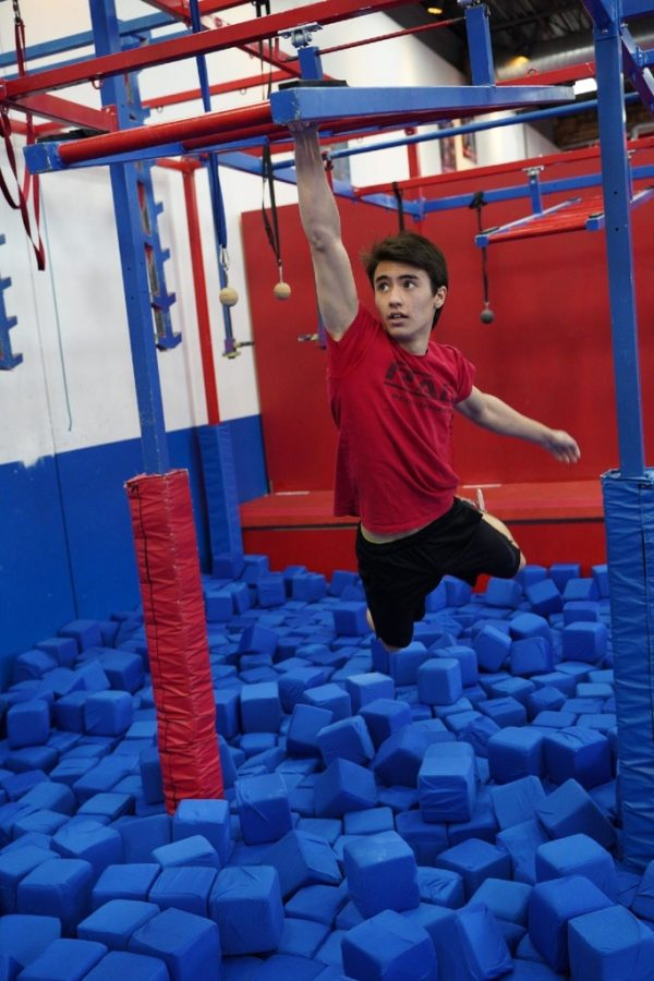 "Life imitating televised art: the TV show ""American Ninja Warrior"" inspires students to replicate the obstacle course in their own time"