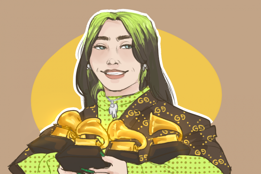 """Billie Eilish was the """"Bad Guy"""" at this year's Grammy's"""