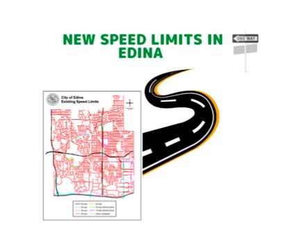 Edina lowers regional speed limits