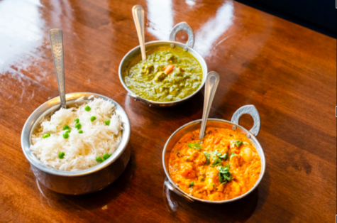 An array of dishes at Tamarind Indian Cuisine